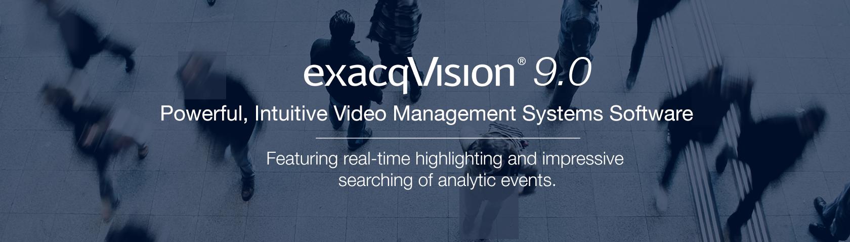 exacqVision 9.0