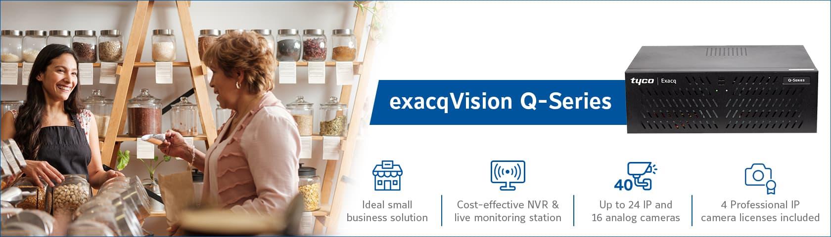 exacqVision Q-Series Release