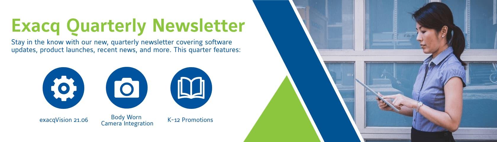 Quarterly Newsletter 06/21